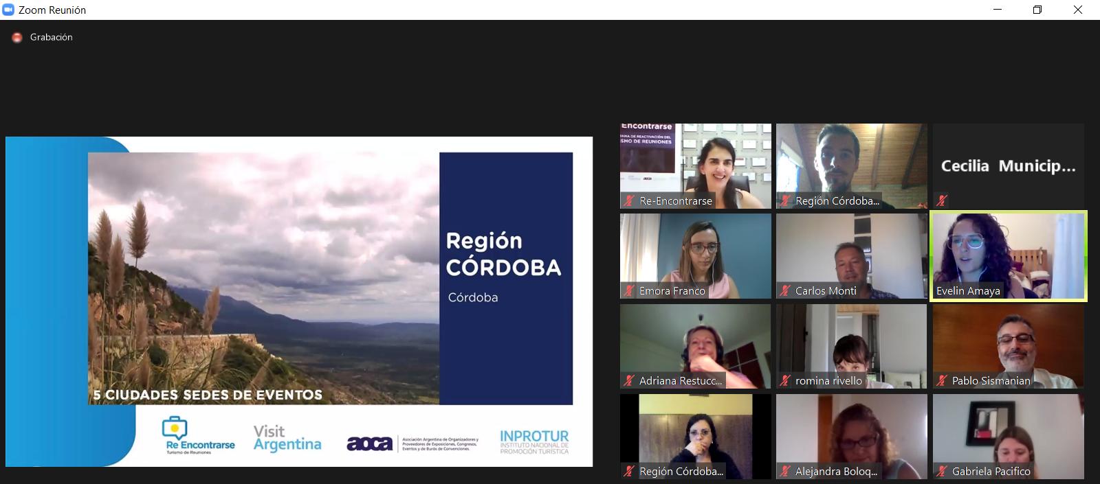 Activa Participación de Córdoba en RE-ENCONTRARSE